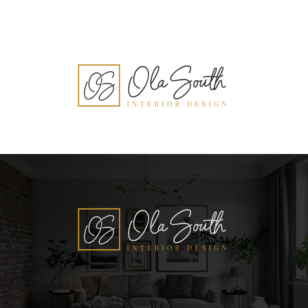 Logo Design For The Logo Design Should Have An Icon That Has The Letters Os The Logo Should Have The Company Name Ola South And Should Have A Tag Line That Says