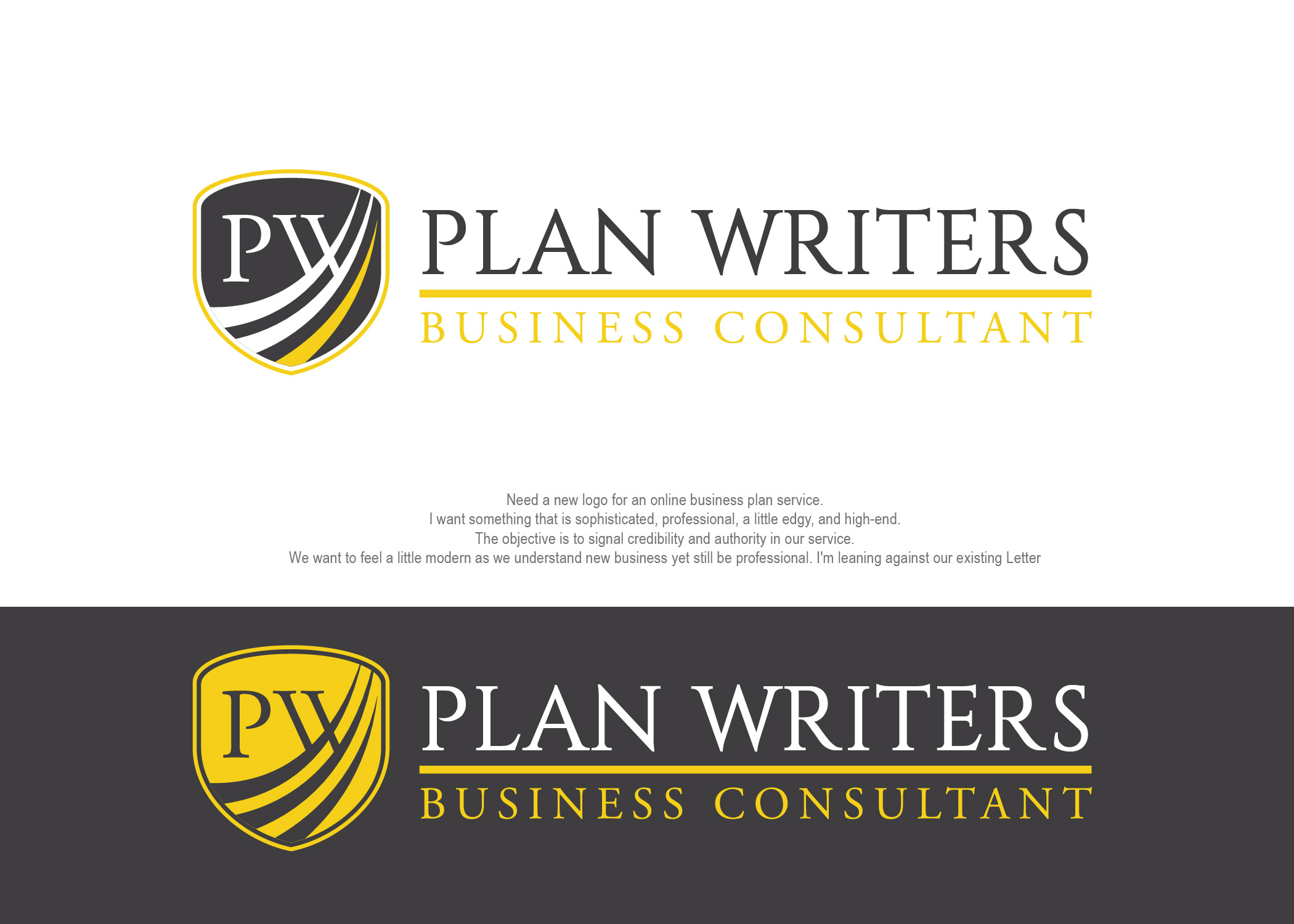 Buy a professional business plan