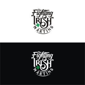 The Fighting Irish Martins | Logo Design by Kreative Fingers