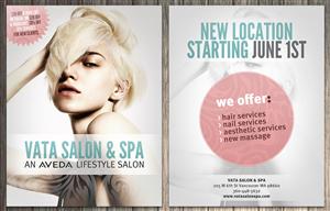 Flyer Design by Attila - Flyer for hair salon