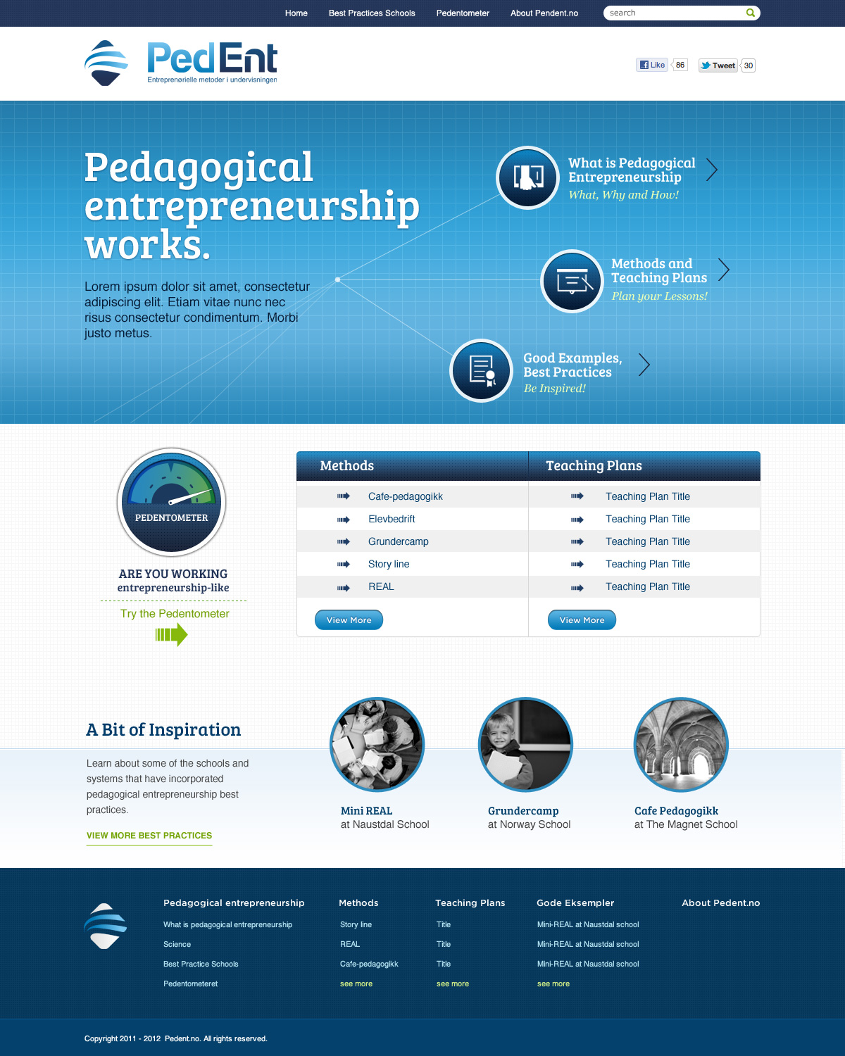 Modern, Professional, Education Web Design for a Company by Fielding ...