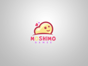"""It could say """"Moshimo Games"""" underneath, perhaps... 