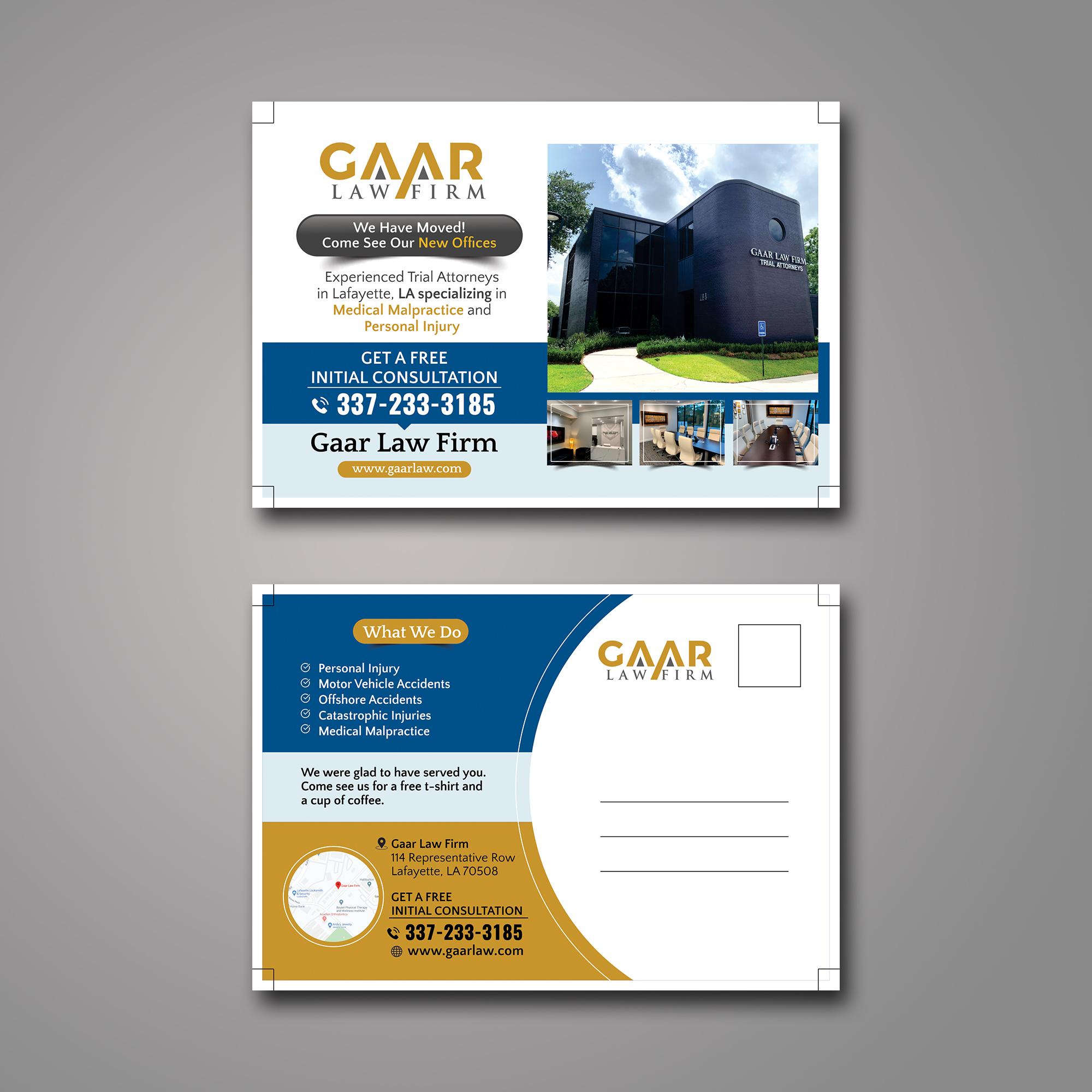 Bold Upmarket Legal Postcard Design For A Company By Ecorokerz Design 25045840