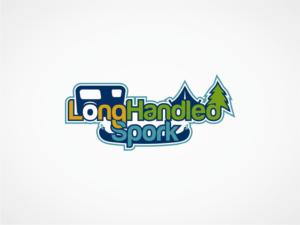 Long Handled Spork | Logo Design by Robby SC