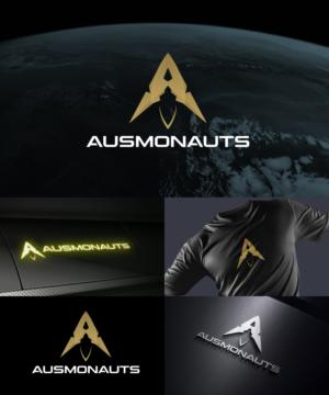 Ausmonauts or AUSMONAUTS | Logo Design by Sergio Coelho