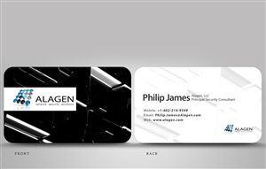 Business Card Design Contest Submission #735257