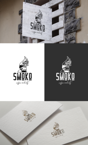 1) smoko and 2) coffee and eats (uppercase or lowercase-your choice) | Logo Design by GLDesigns