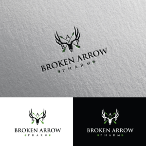 Broken Arrow Pharm | Logo Design by Rii