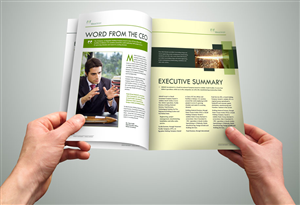 Annual Report Design 735011