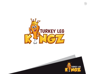 Turkey Leg Kingz is name of the business | Logo Design by D_Mantra