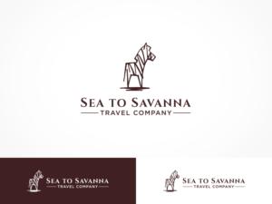Sea to Savanna Travel Company | Logo Design by ArtTank