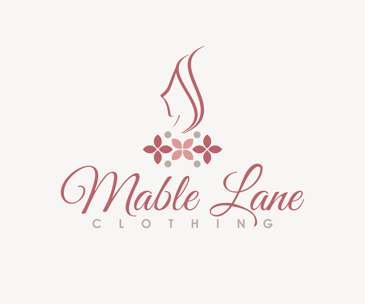 Feminine Upmarket Clothing Logo Design For Mable Lane