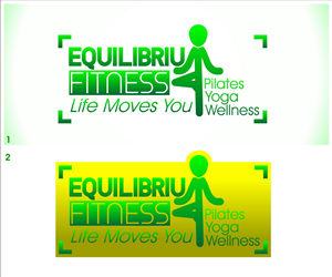 Logo Design by hh4m for Equilibrium Fitness | Design: #3032502