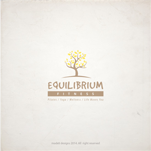 Logo Design by madeli for Equilibrium Fitness | Design: #3030590