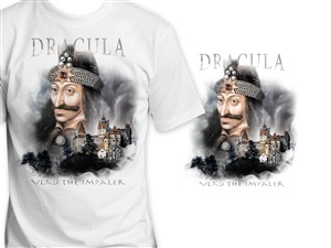 T-shirt Design by ArtTank - T-shirt Design: The Real Dracula