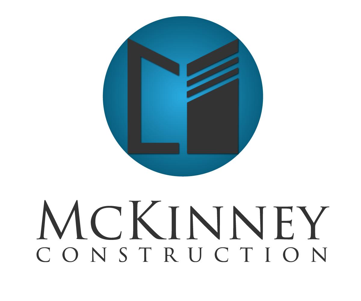 Elegant playful contractor logo design for mckinney for Mckinney builders