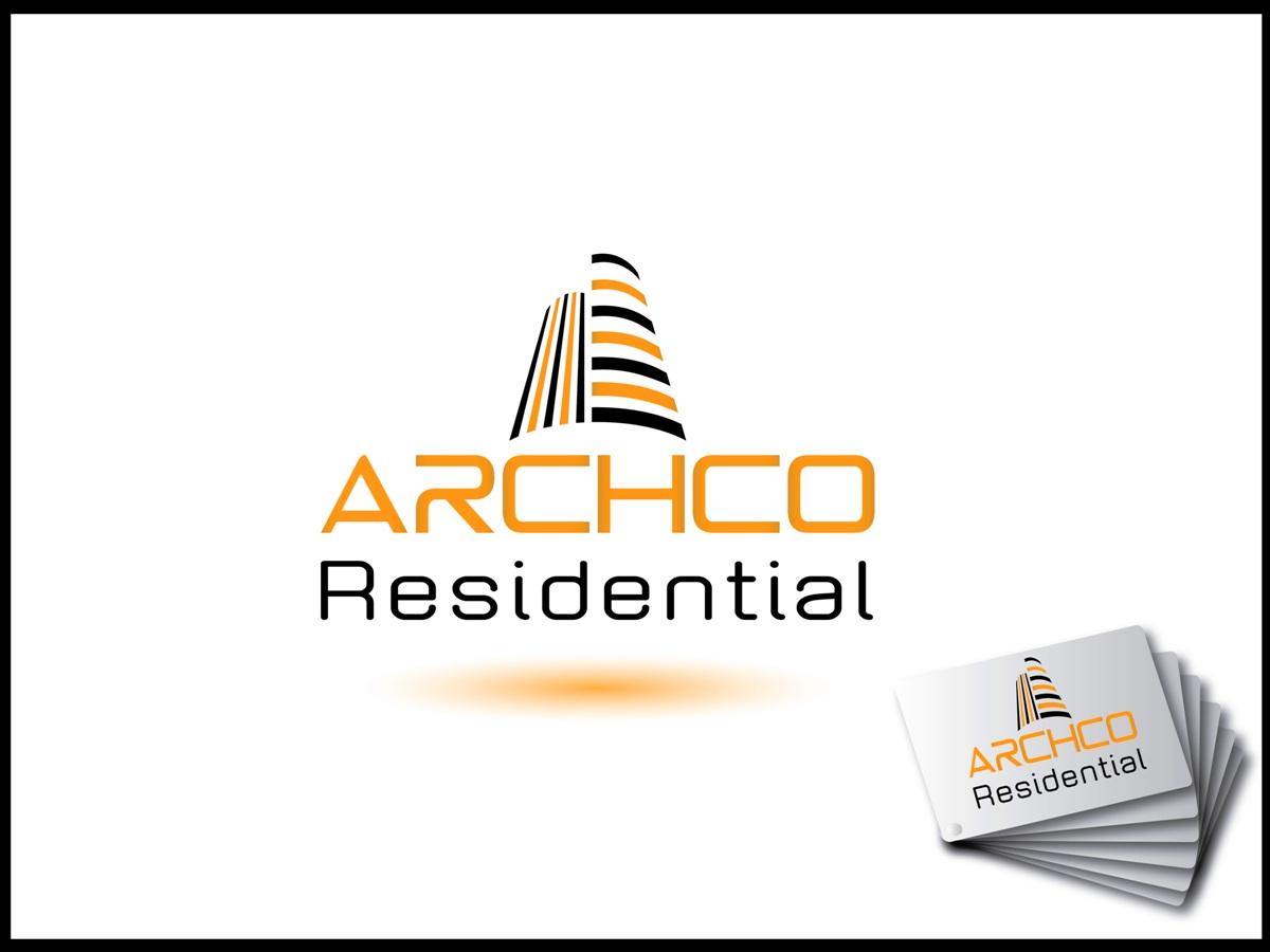 Apartment logo design for archco residential by akg for Apartment logo design