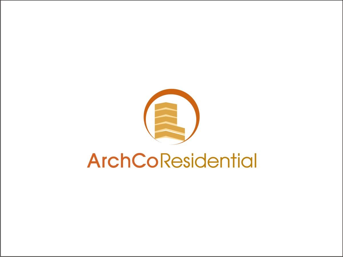 Apartment logo design for archco residential by fusion for Apartment logo design