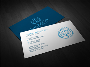 Serious business card designs 57 serious business cards to browse attorney business card business card design by atvento graphics reheart Image collections