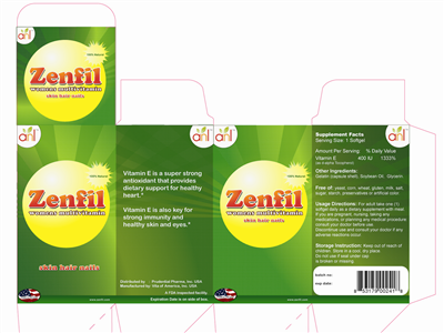 Green Packaging And Business Name 65208