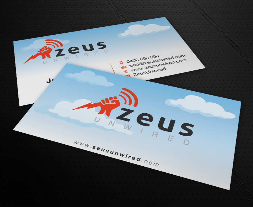 Bold, Modern Business Card Design for Megan Edwards by patriotu ...
