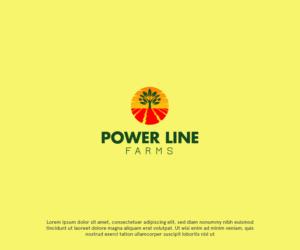 Power Line Farms | Logo Design by TheStudioX