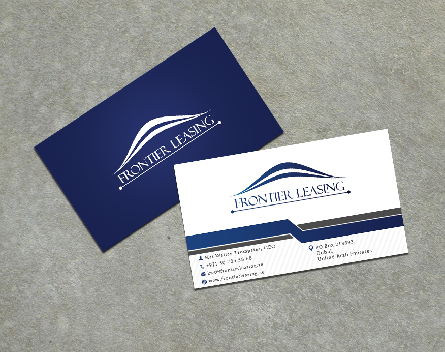 Elegant serious conservative business card design for a company by business card design by stefan for this project design 3040500 colourmoves