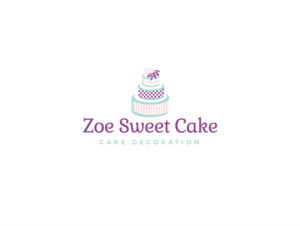 Zoe Sweet Cake | Logo Design by wonderland