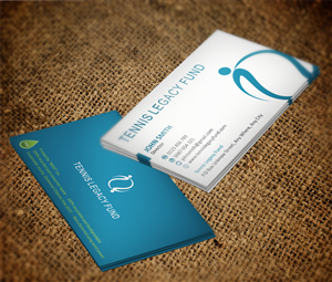 Business Card Design job – Tennis Legacy Fund Business Card – Winning design by MT