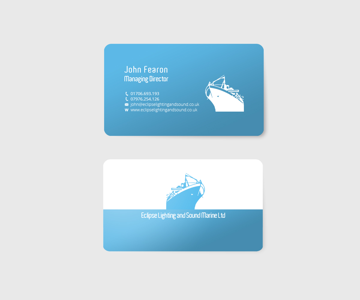 55 professional feminine business card designs for a business in business card design design 3049410 submitted to marine business card closed magicingreecefo Choice Image
