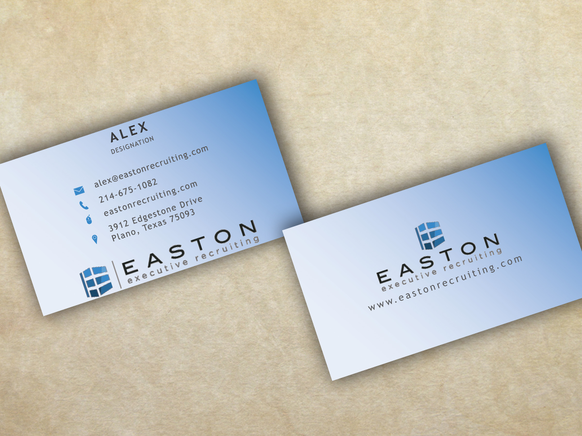 Elegant traditional real estate business card design for a company business card design by ink and graphite for this project design 3059609 reheart Image collections