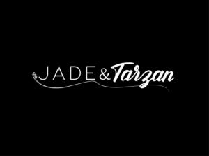 Jade & Tarzan or JADE&TARZAN or Jade&Tarzan | Logo Design by ButterflyCreation