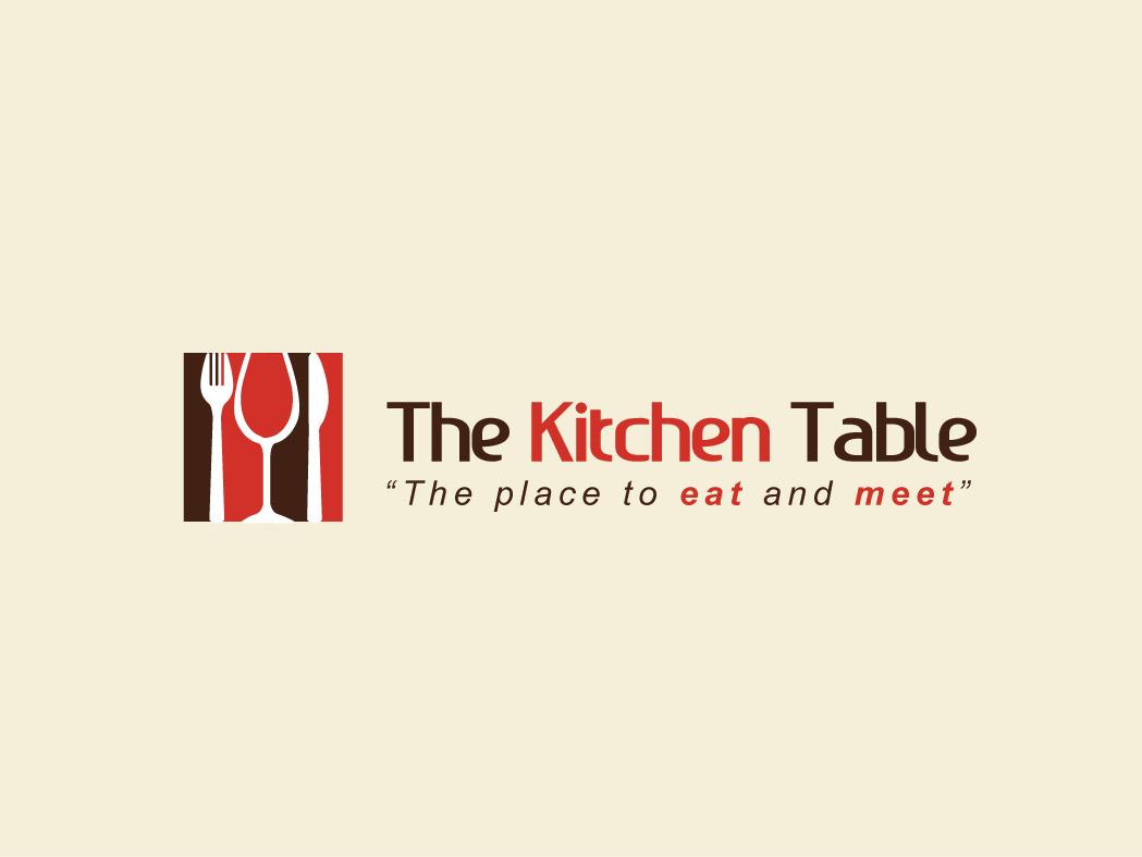 Logo Design by Elisha Leo for the Kitchen Table - Design #67688