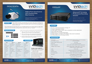 Flyer Design by smart - Security Company - Product Flyer