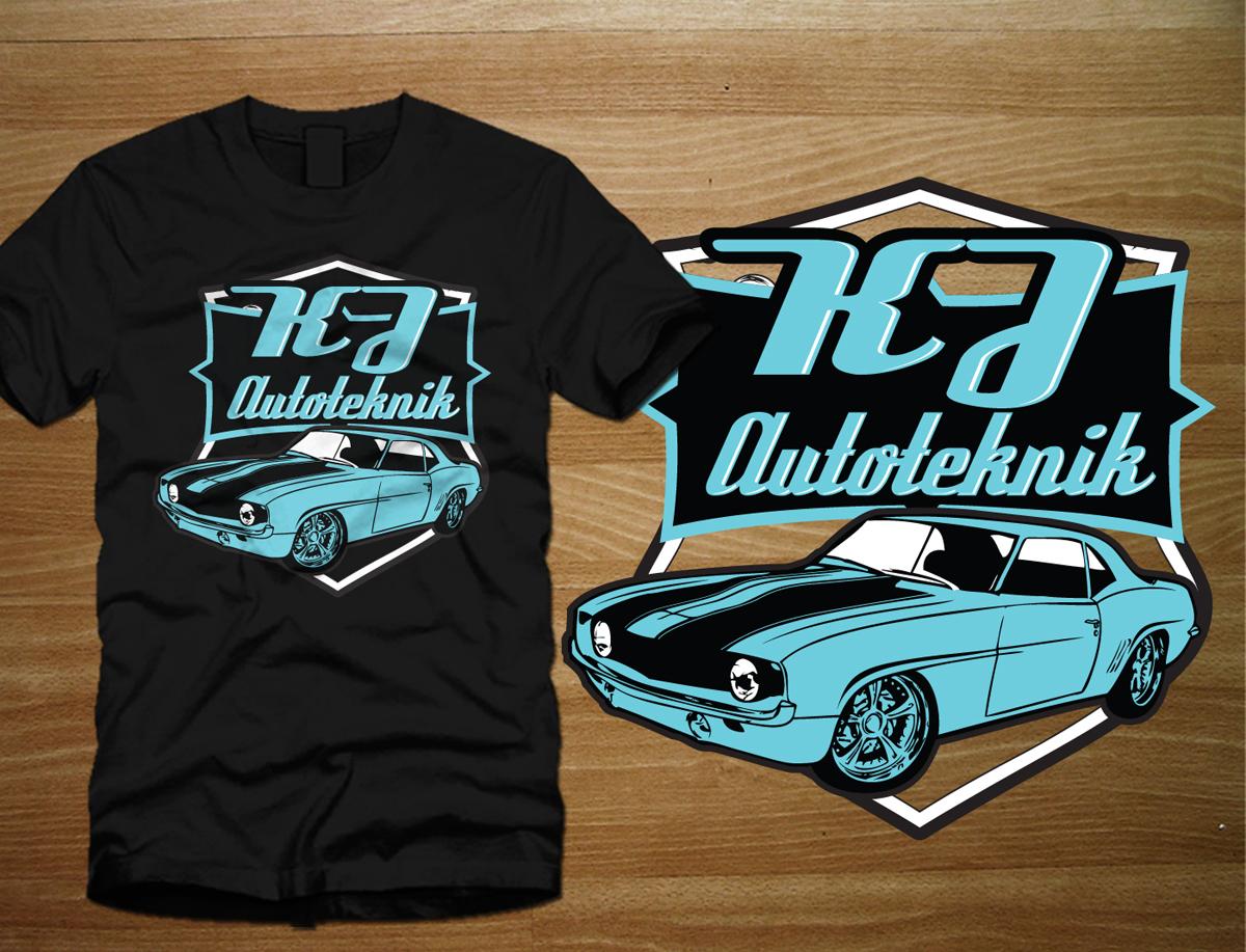 Design car repair workshop - T Shirt Design By One Day Graphics For Car Repair Workshop T Shirt