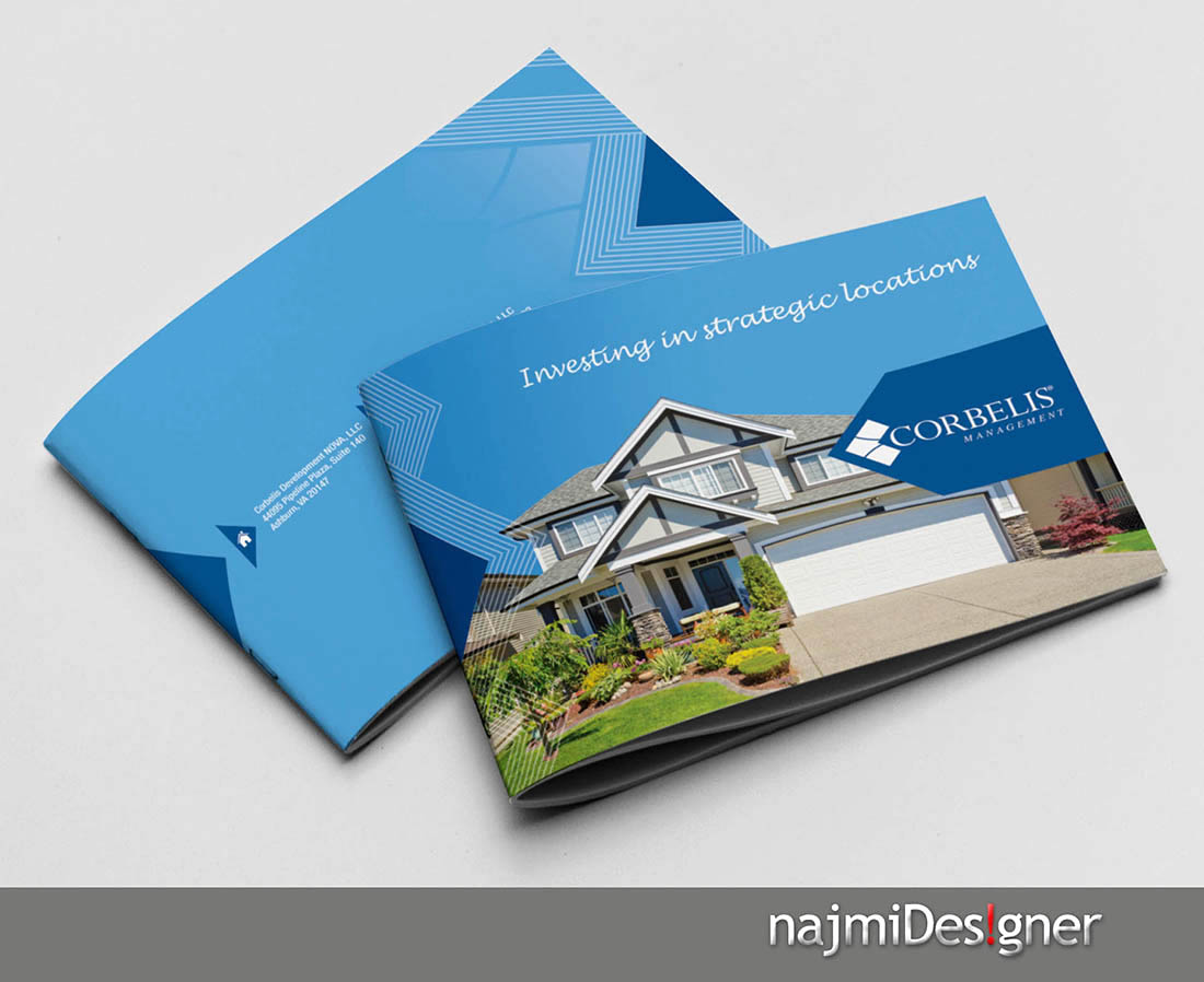 Corporate brochure needed for real estate developer for Corporate brochure design