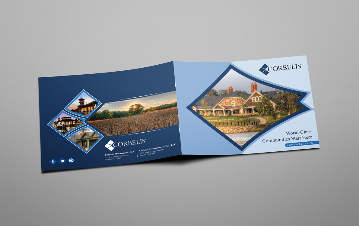 Professional Serious Brochure Design For Garrett Solomon