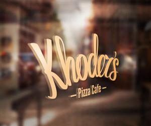 Logo Design by Greedin - Pizza Cafe Logo needed. Easy design.