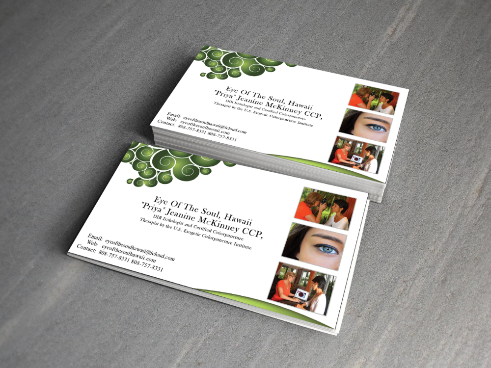 Modern, Personable, Business Business Card Design for Eye of The ...