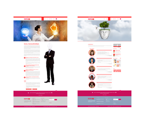 Web Design by Just Me - The Livingston Group for Emotional Marketing we...