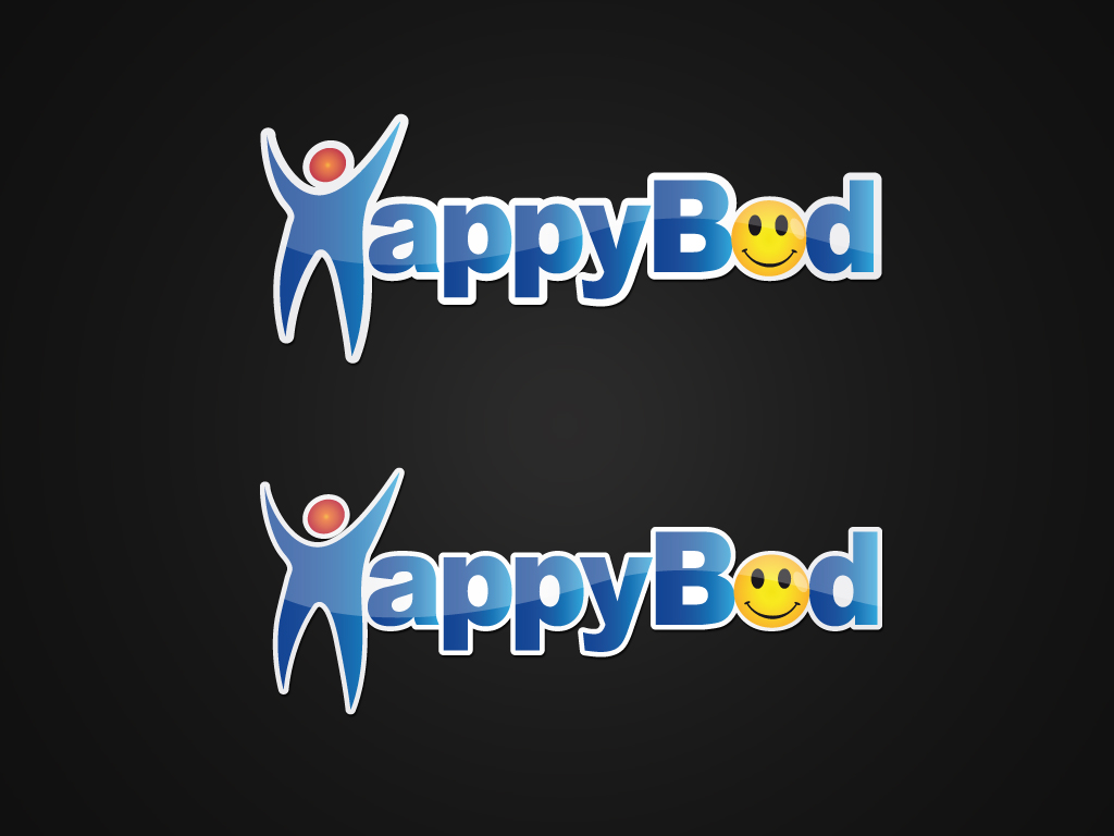 "Logo Design job – Create a ""HappyBod"" logo  for a weight loss business – Winning design by Walidplus"
