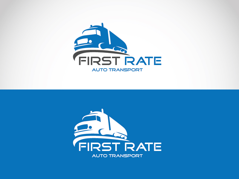 Logo Design By AssertSoft For First Rate Auto Transport