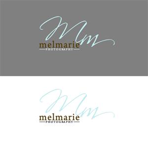 Logo Design by Alfie Tubillara for Mel Marie Photography | Design: #68163