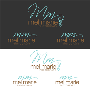 Logo Design by Alfie Tubillara for Mel Marie Photography | Design: #68164
