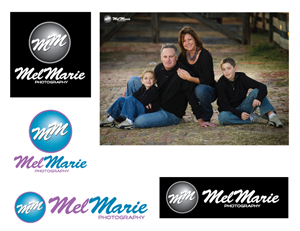 Logo Design by icon Creative Solutions for Mel Marie Photography | Design: #68434