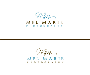 Logo Design by Stephanie Soon for Mel Marie Photography | Design: #68151