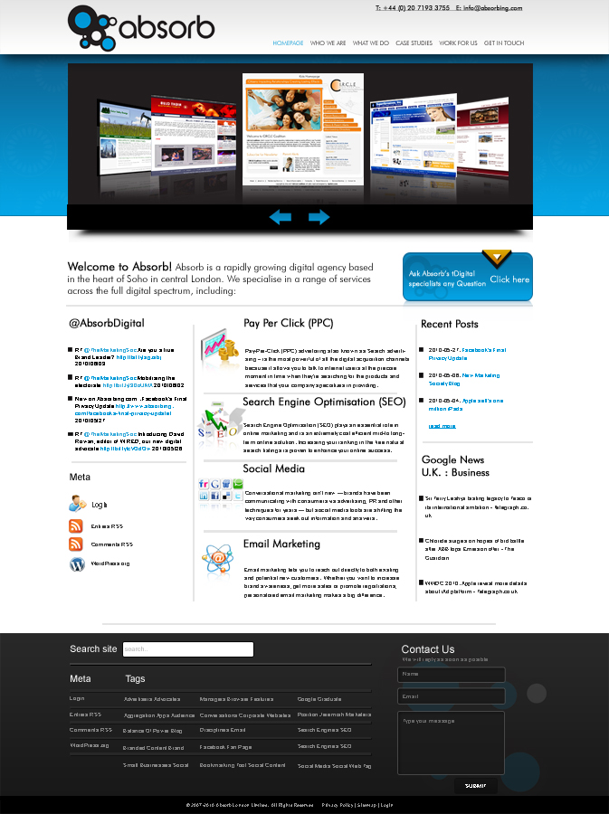 Web Design by Xpiderz for Squarespace hosted Web Design Project - Design #68238