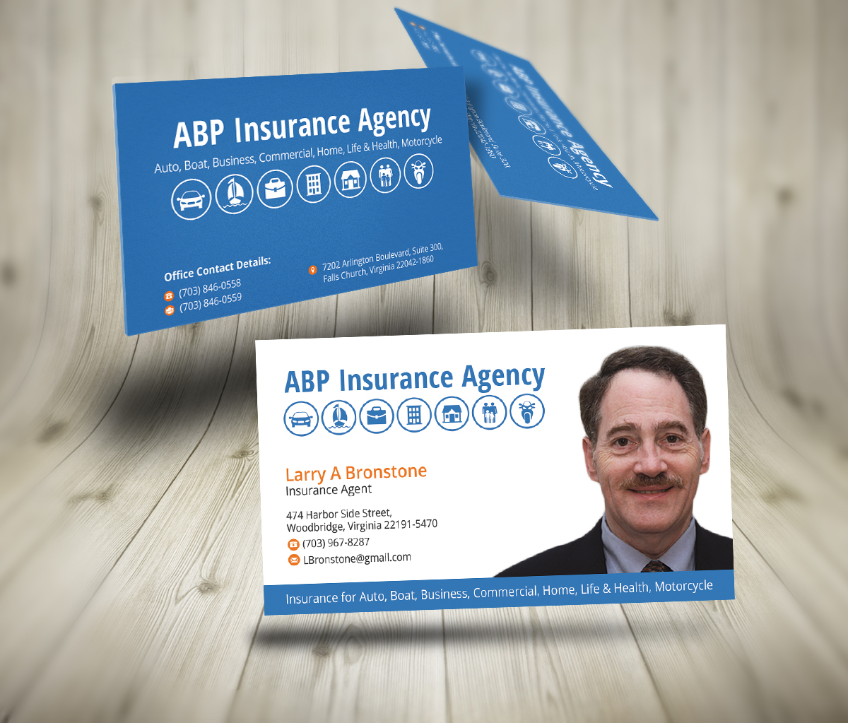 21 Traditional Upmarket Life Insurance Business Card ...