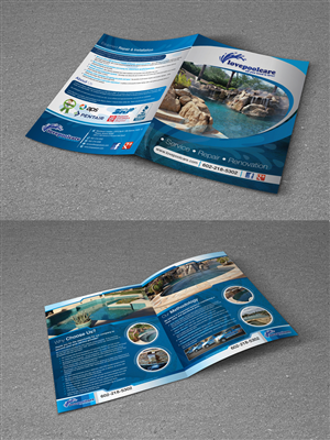 Brochure Design by Sheri - Arizona Pool Company Brochure
