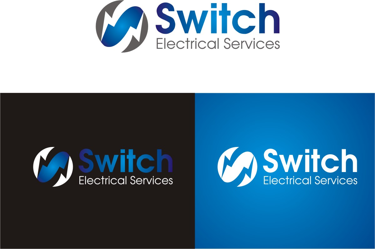 Bold, Modern, Construction Logo Design for Switch Electrical ...